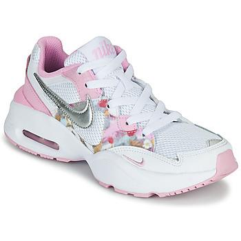 Čevlji  Deklice Nizke superge Nike AIR MAX FUSION SE GS Bela / Rožnata