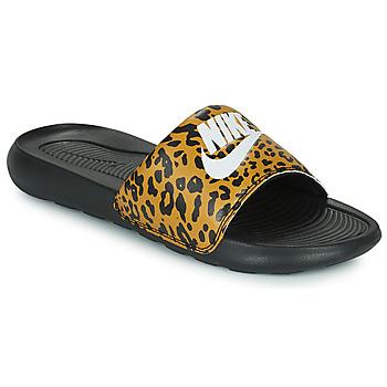 Čevlji  Ženske Natikači Nike Nike Victori Print (Name Not Legal) Kostanjeva / Črna