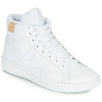 Čevlji  Ženske Nizke superge Nike COURT ROYALE 2 MID Bela