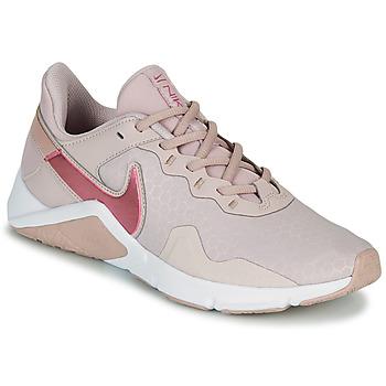 Čevlji  Ženske Šport Nike LEGEND ESSENTIAL 2 Bež / Rožnata