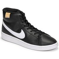 Čevlji  Moški Nizke superge Nike COURT ROYALE 2 MID Črna / Bela