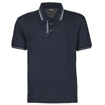 Oblačila Moški Polo majice kratki rokavi Emporio Armani 6H1F79 Modra