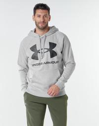 Oblačila Moški Puloverji Under Armour UA RIVAL FLEECE BIG LOGO HD Siva / Svetla