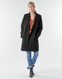 Oblačila Ženske Plašči Esprit LL* BASICBLZRCT Črna