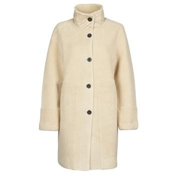 Oblačila Ženske Plašči Esprit LL* FAKE FUR Bež