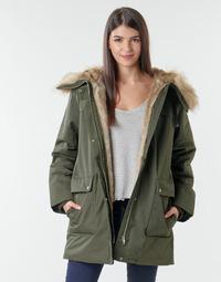 Oblačila Ženske Parke Esprit LL*3M FEM PARKA Kaki