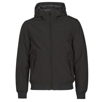 Oblačila Moški Puhovke Esprit LL 3LSOFTSHEL Črna