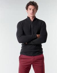 Oblačila Moški Puloverji Esprit COWS STR HZ Črna
