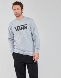 Oblačila Moški Majice z dolgimi rokavi Vans VANS CLASSIC LS Siva