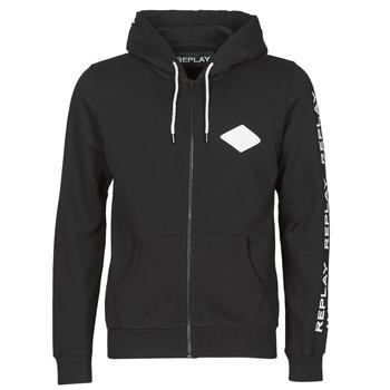 Oblačila Moški Puloverji Replay M3221 Črna