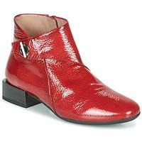 Čevlji  Ženske Polškornji Hispanitas ANETO Rdeča