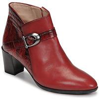 Čevlji  Ženske Gležnjarji Hispanitas PIRINEO Rdeča