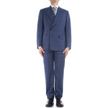 Oblačila Moški Obleka Cesare Attolini S20WA30 B12 Blue