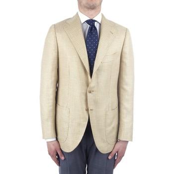 Oblačila Moški Jakne & Blazerji Cesare Attolini S20MA43 Yellow