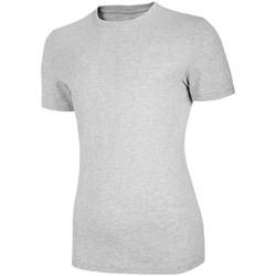 Oblačila Ženske Majice s kratkimi rokavi 4F TSM003 Siva