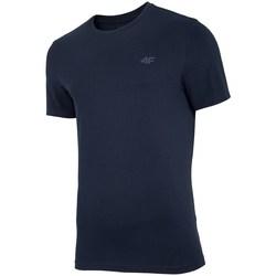 Oblačila Moški Majice s kratkimi rokavi 4F TSM003 Črna