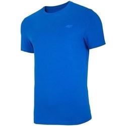 Oblačila Moški Majice s kratkimi rokavi 4F TSM003 Modra