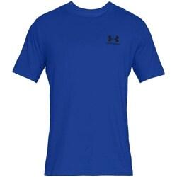 Oblačila Moški Majice s kratkimi rokavi Under Armour Sportstyle Left Chest Modra