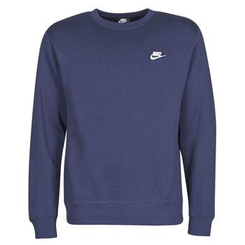 Oblačila Moški Puloverji Nike M NSW CLUB CRW BB Modra