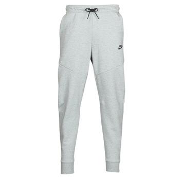 Oblačila Moški Spodnji deli trenirke  Nike M NSW TCH FLC JGGR Siva