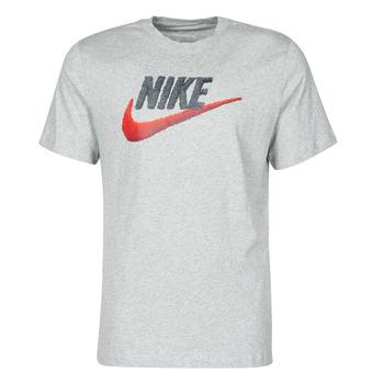 Oblačila Moški Majice s kratkimi rokavi Nike M NSW TEE BRAND MARK Siva