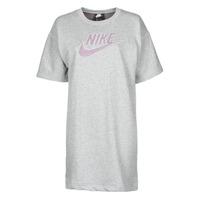 Oblačila Ženske Kratke obleke Nike W NSW DRESS FT M2Z Siva