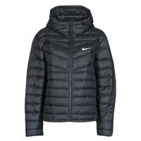 Oblačila Ženske Puhovke Nike W NSW WR LT WT DWN JKT Črna