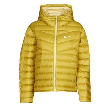 Oblačila Ženske Puhovke Nike W NSW WR LT WT DWN JKT Kaki