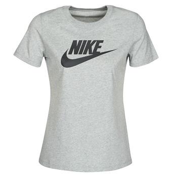 Oblačila Ženske Majice s kratkimi rokavi Nike W NSW TEE ESSNTL ICON FUTUR Siva
