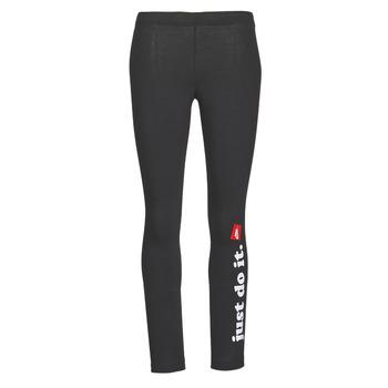 Oblačila Ženske Pajkice Nike W NSW LGGNG CLUB Črna