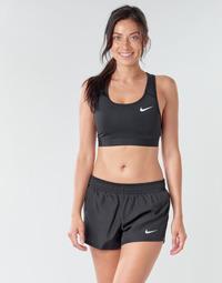 Oblačila Ženske Športni nedrčki Nike NIKE SWOOSH BAND BRA NON PAD Črna