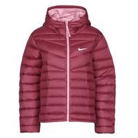 Oblačila Ženske Puhovke Nike W NSW WR LT WT DWN JKT Bordo