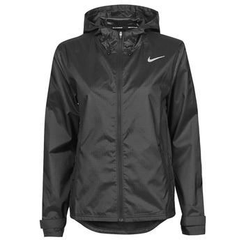 Oblačila Ženske Vetrovke Nike W NK ESSENTIAL JACKET Črna