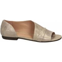 Čevlji  Ženske Sandali & Odprti čevlji Salvador Ribes METAL PARKER stone