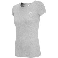 Oblačila Ženske Majice s kratkimi rokavi 4F TSD001 Siva