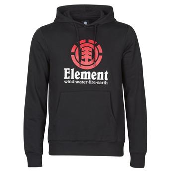 Oblačila Moški Puloverji Element VERTICAL HOOD Črna