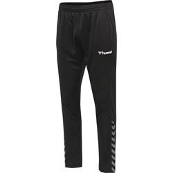 Oblačila Spodnji deli trenirke  Hummel Pantalon  hmlAUTHENTIC Poly noir/blanc
