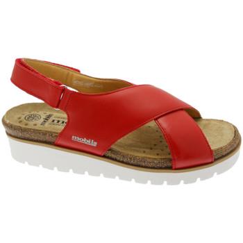 Čevlji  Ženske Sandali & Odprti čevlji Mephisto MEPHTALLYro rosso