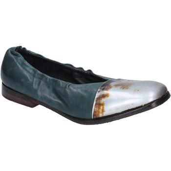 Čevlji  Ženske Balerinke Moma BM529 Zelena