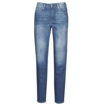 Oblačila Ženske Jeans straight G-Star Raw 3301 HIGH STRAIGHT 90'S ANKLE WMN Vybledlá / Kobaltová modř