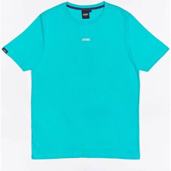Oblačila Dečki Majice s kratkimi rokavi Wrung T-shirt  Caution Reload bleu turquoise/bleu