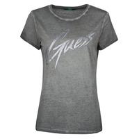 Oblačila Ženske Majice s kratkimi rokavi Guess SS CN IVONNE TEE Črna