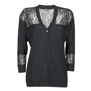 Oblačila Ženske Telovniki & Jope Guess IRENE CARDI SWTR Črna