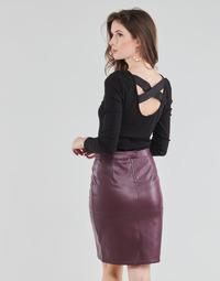 Oblačila Ženske Topi & Bluze Guess AYADA Črna