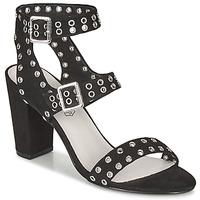 Čevlji  Ženske Sandali & Odprti čevlji Les Petites Bombes GLAILEUL Črna