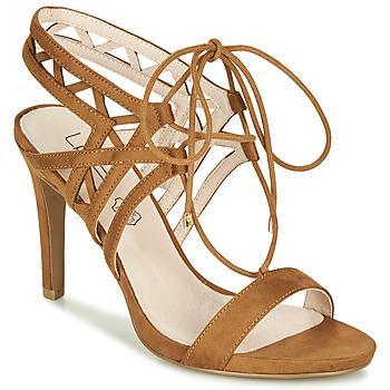Čevlji  Ženske Sandali & Odprti čevlji Les Petites Bombes MACHA Kamel