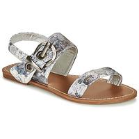 Čevlji  Ženske Sandali & Odprti čevlji Les Petites Bombes PERVENCHE Siva