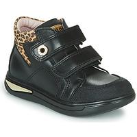 Čevlji  Deklice Visoke superge Pablosky 490611 Črna