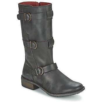 Čevlji  Ženske Mestni škornji    Kickers GROWUP Črna