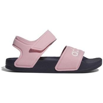 Čevlji  Deklice Sandali & Odprti čevlji adidas Originals Adilette Sandal Roza
